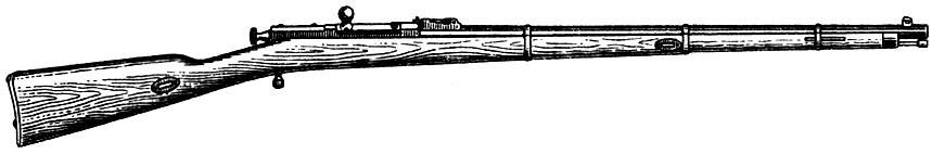 Казачья винтовка Бердана № 2