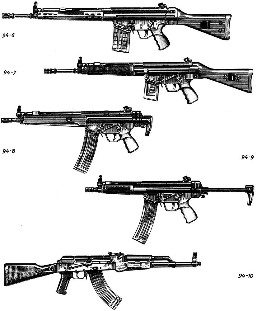 Иллюстрации автоматов (штурмовых винтовок) [1988 Жук А.Б ...